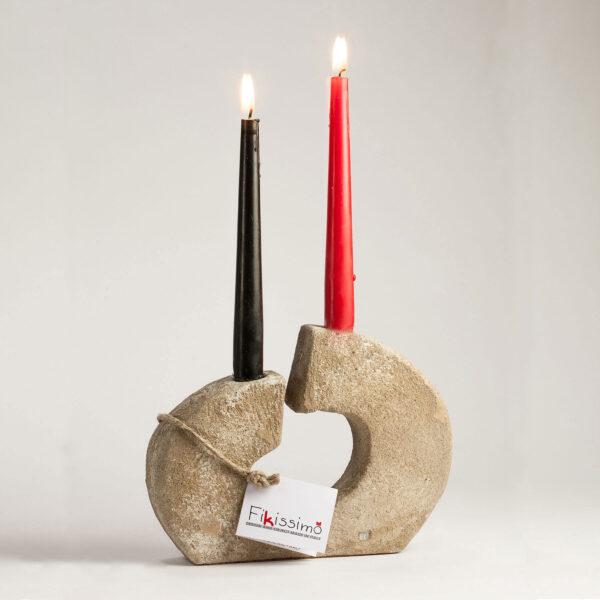 candelabro da tavolo crack