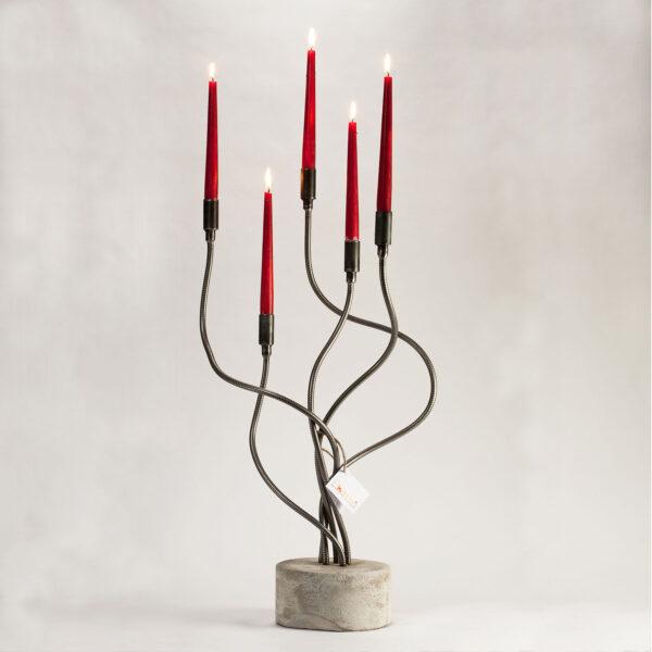 candelabro flames 5