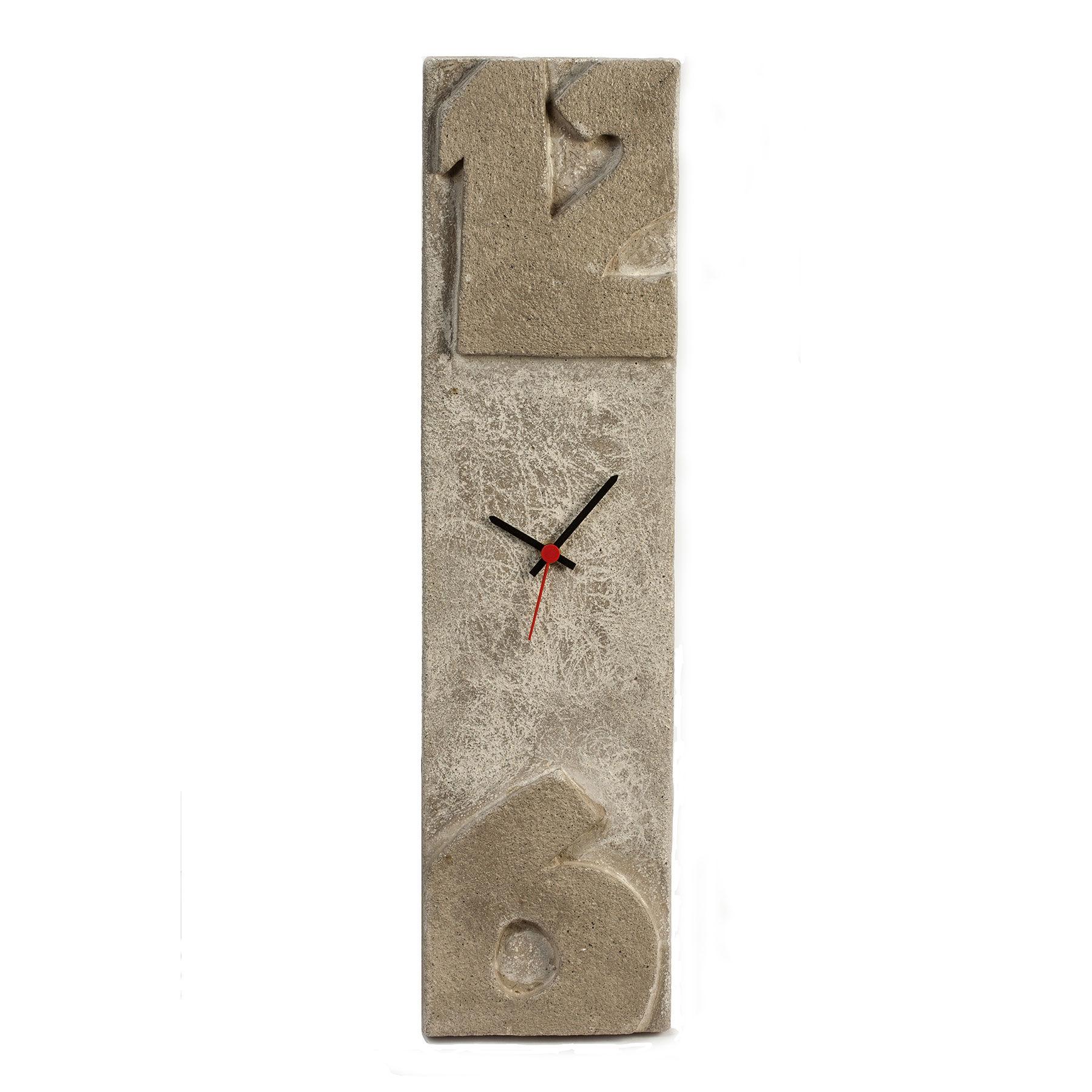 orologio da parete impronta