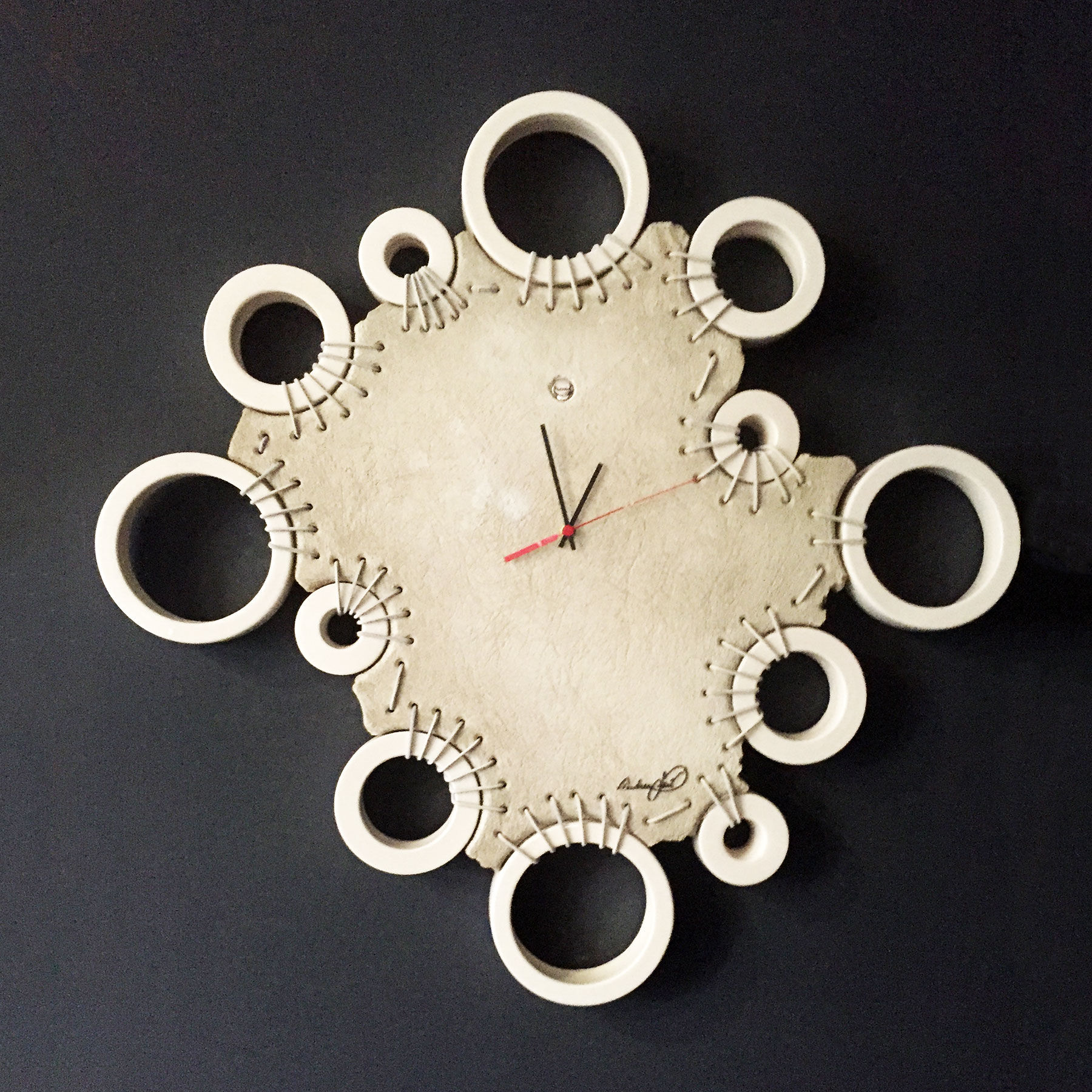 orologio da parete satelliti